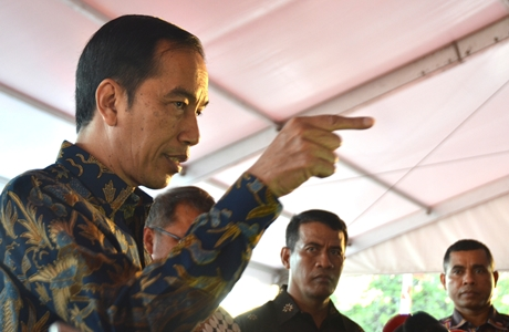 Presiden Jokowi: Bukan Hanya Saracen-nya Saja, Tapi Siapa yang Pesan, Siapa yang Bayar, Harus Diusut Tuntas