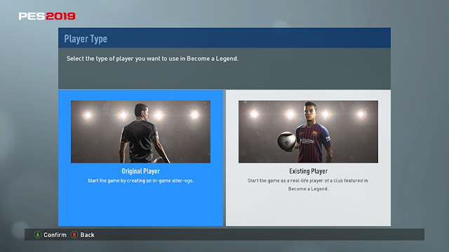 PES 2017 Master League, Become A Legend Graphic Like PES 2019