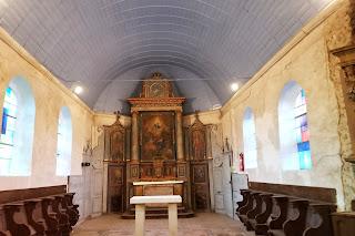 voûte restaurée église corny 27