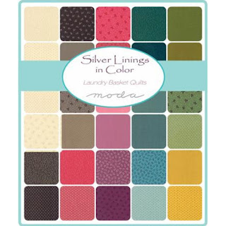 Moda Silver Linings in Color Fabric by Laundry Basket Quilts for Moda Fabrics