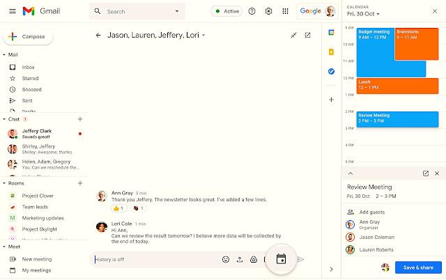 Artık Google Sohbet'te bir doğrudan mesajı veya bir odayı sabitleyebilirsiniz. Bu, söz konusu görüşmeyi Gmail'de Sohbet'te liste görünümünüzün en üstünde tutar.