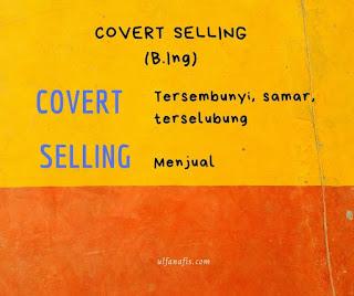 Pengertian Covert Selling