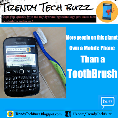 More People Own A mobile Phone Than A ToothBrush