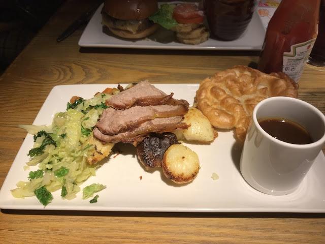 The Calverley Arms, Leeds roast sirloin of beef