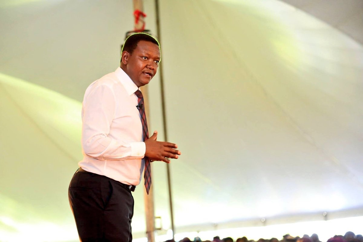 DAILY POST: ALFRED MUTUA says KALONZO is a fool and a ...