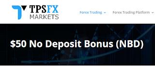 Bonus Forex Tanpa Deposit TpsFXMarkets $50