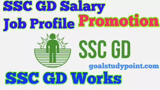SSC GD Salary, Job Profile, Promotion and Works