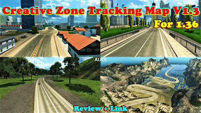 Creative Zone Tracking Map v1.3 For 1.36