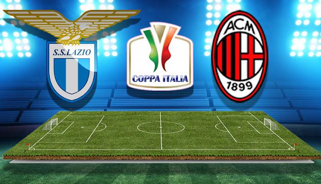 Prediksi Lazio vs AC Milan, Semifinal Coppa Italia 2018