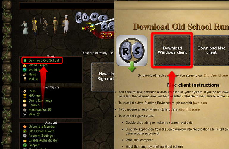 How to Download and Install Old School RuneScape for PC