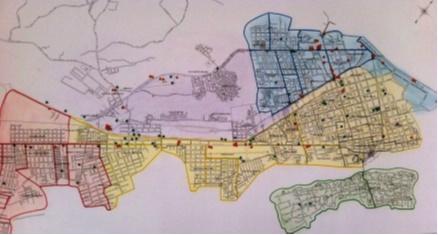 mapa - Pragas e Eventos