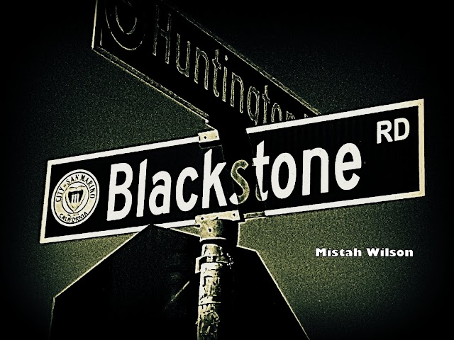 Blackstone Road, San Marino, California by Mistah Wilson