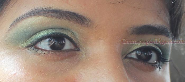 Makeup Geek Duochrome Eyeshadow Typhoon: EOTD