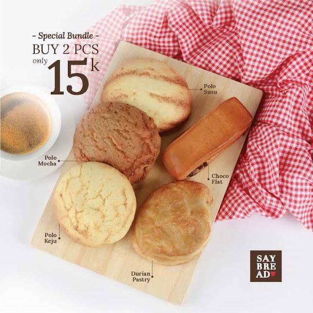 spesial bundle roti say bread indomaret point periode 31 Juli s/d 02 Agustus 2020