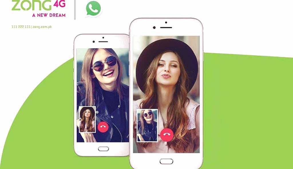 Zong Whatsapp Package 2020
