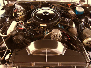 1975 Pontiac Grand Ville Engine