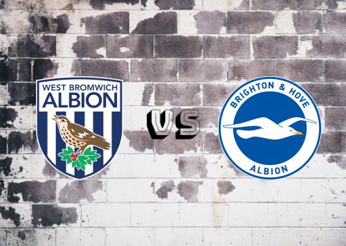 West Bromwich Albion vs Brighton & Hove Albion  Resumen