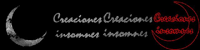 4 Prototipos del logotipo Creaciones Insomnes
