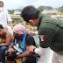 México desintegra parcialmente una caravana migrante cerca a la frontera sur