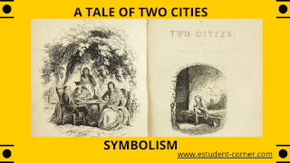 What is symbolism , Meaning , example ,the major symbolism in the novel a tale of two cities notes