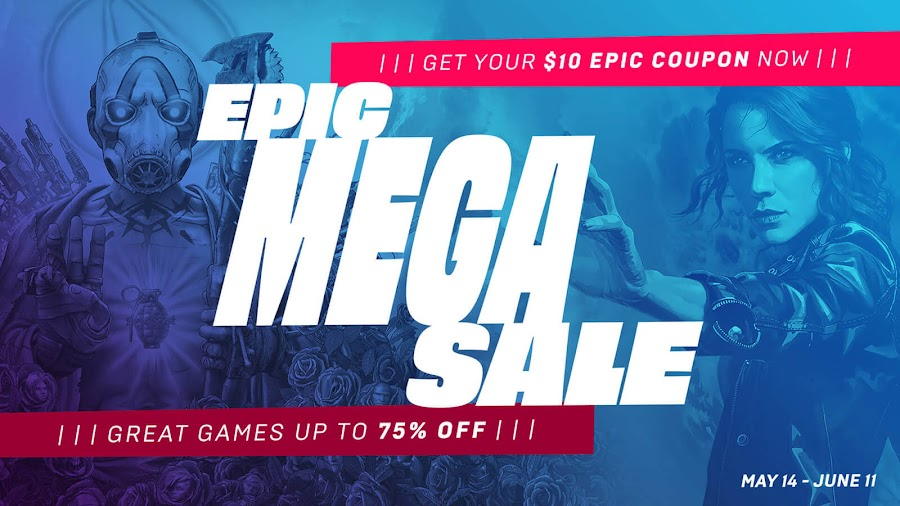 epic mega sale 2020 epic games store summer sale free games