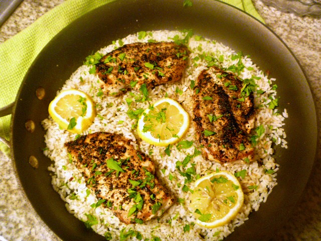 10 One Pot Meals that Dramatically Decrease the Heat in your Kitchen - One Pot Herb Chicken and Rice - Slice of Southern