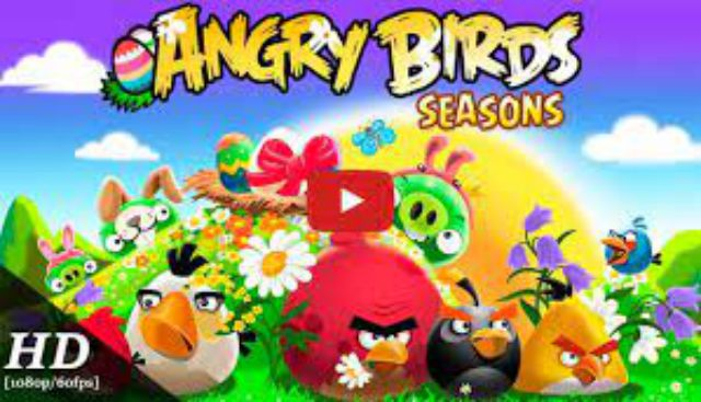 Angry Birds Seasons PC Game Free Download