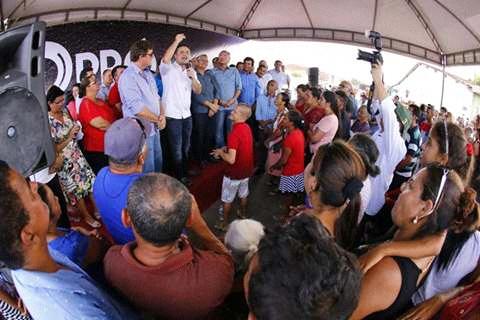 governo Renan filho, Afirma convênio de construção de 70 casa em Ibateguara.