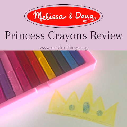 Princess Crayons Review - Melissa & Doug