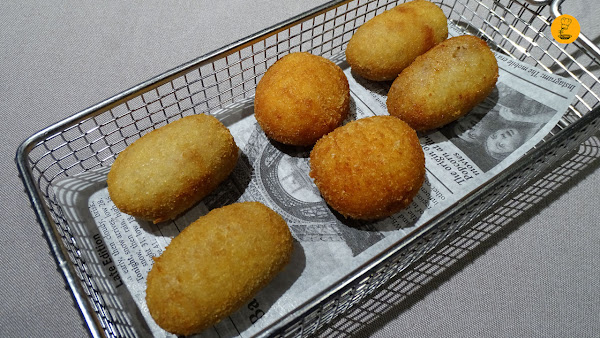 Degustación de croquetas restaurante Orgaz Madrid