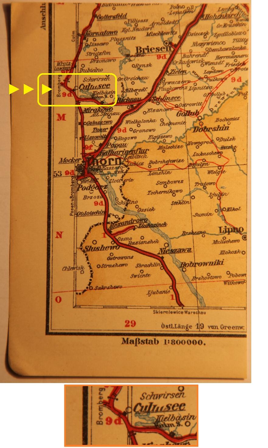 Culmsee cut map 1899