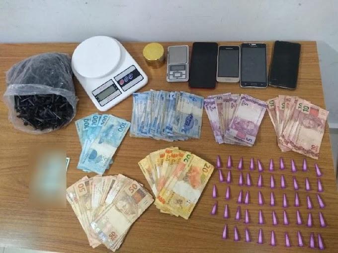 Comerciante é preso em flagrante por tráfico no São José