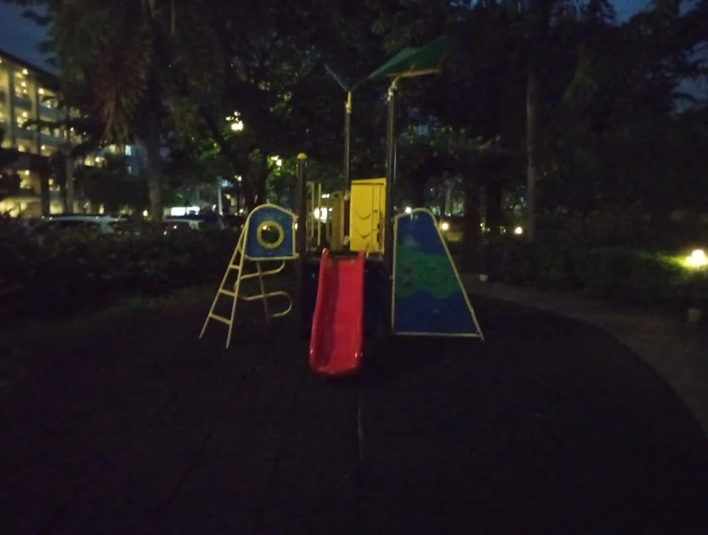 Xiaomi Redmi 9A Camera Sample - Playground, Night, Normal
