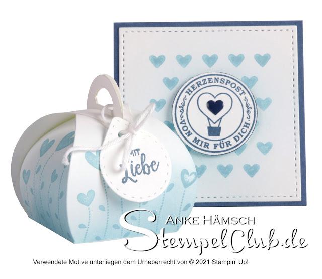 Geschenkset in babyblau