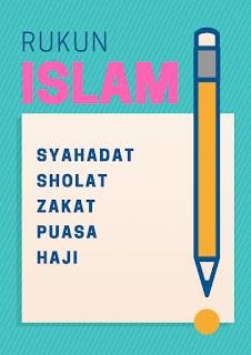 Rukun Islam ada Lima