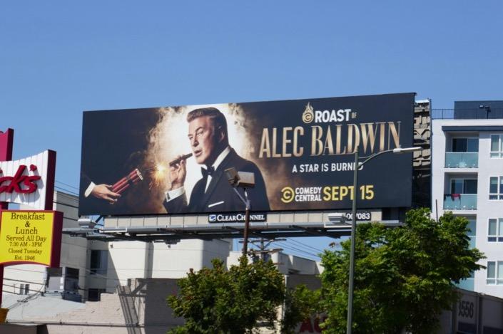 Roast Alec Baldwin billboard