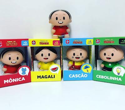 Ana Caldatto Lancamento Colecao Turma Da Monica Toy Art 2019