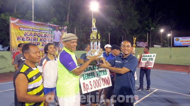 Pertarungan Dua Petenis Berperingkat Dunia di Final Kapolres Kediri Kota Cup 2020, Muzukha Juara !