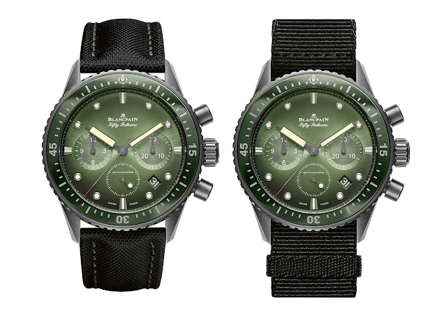 oms Bathyscaphe Chronographe Flyback Green