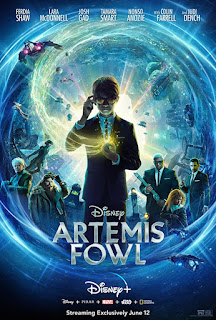 ARTEMIS FOWL movie poster