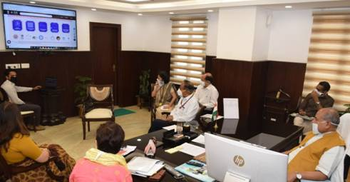 Launch-of-The-Saras-Collection-on-GeM-Portal