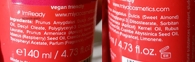 aceite desmaquillante miya cosmetics