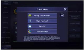Cara Ganti Akun Mobile Legend di android [Cepat dan Mudah]