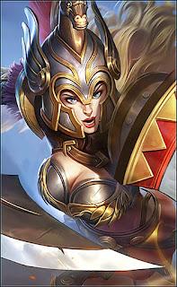 Freya Gladiator Heroes Fighter of Skins V2
