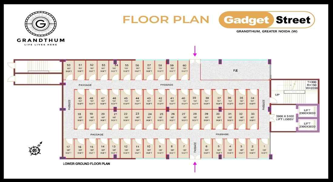 Bhutani-Grandthum-Gadget-Street-floor-Plan