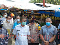 Bupati dan Wakil Bupati Nias Selatan Lakukan Sidak Sembako Jelang Lebaran