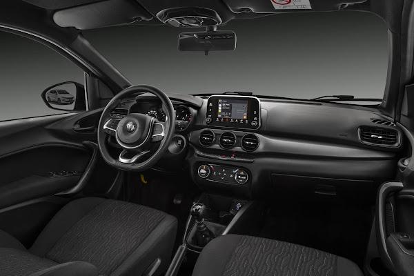 Fiat Cronos 2021 - interior
