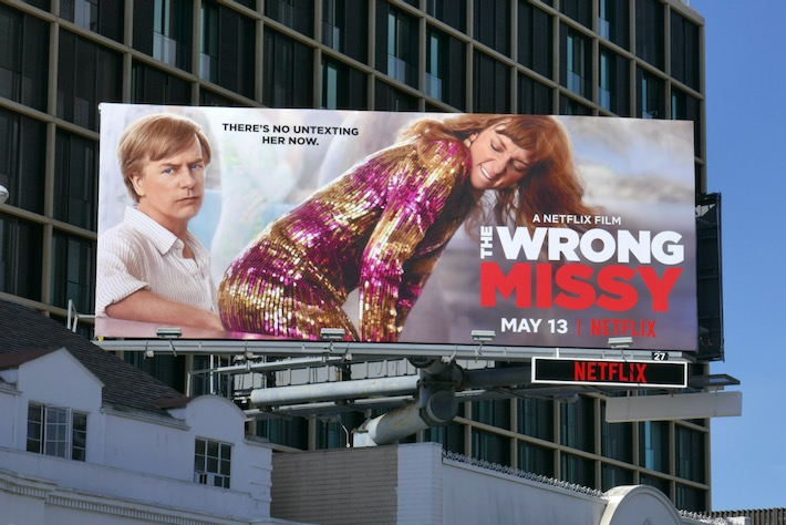 Wrong Missy movie billboard
