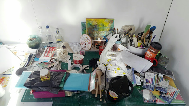 Whoopidodooings: Carmen Wing - WOYWW What's On My Workdesk Wednesday