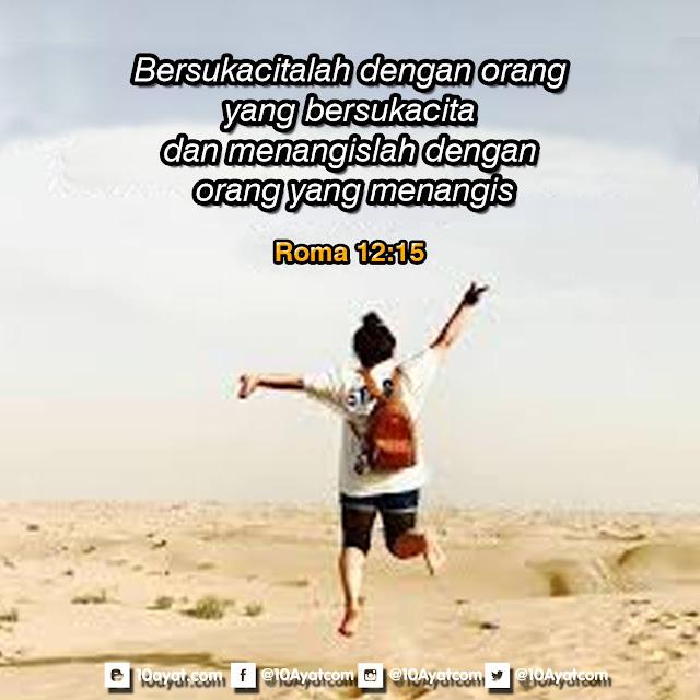Roma 12:15